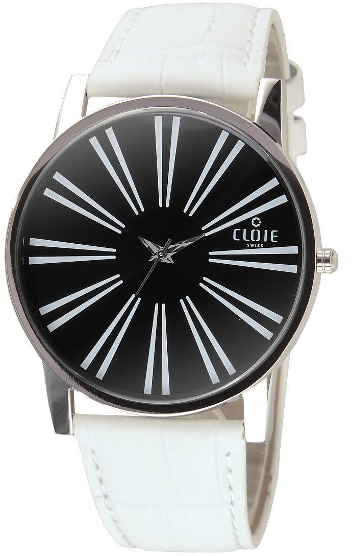 CLOIE 活力無限時尚腕錶-黑/37mm CL10035-CA04