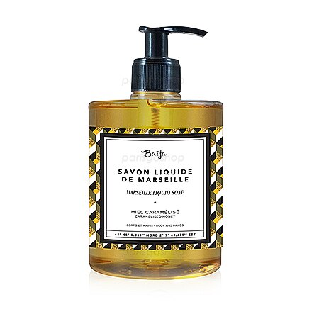 Baija 巴黎百嘉 凡爾賽誘惑 古法馬賽液體皂 ( 焦糖蜂蜜) 500ML【巴黎好購】BAJ0250010 - 限時優惠好康折扣