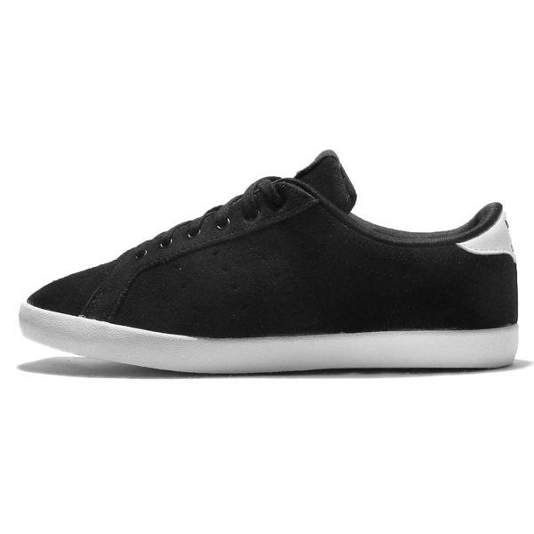 《限時特價↘7折免運》Adidas ORIGINALS MISS STAN W 女鞋 麂皮 黑白 基本款 【運動世界】 S32161