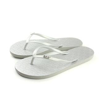 ROXY 夾腳拖鞋 銀色 女鞋 no023