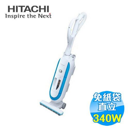 日立 HITACHI 340W 免紙袋直立式負離子吸塵器 CVSP3T