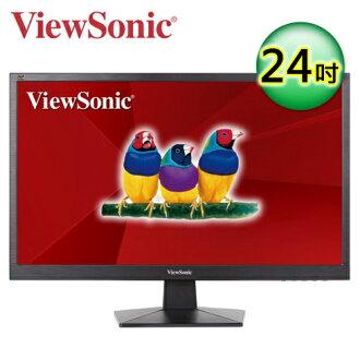 優派 VA2407h 24型 HDMI 寬螢幕顯示器【三井3C】