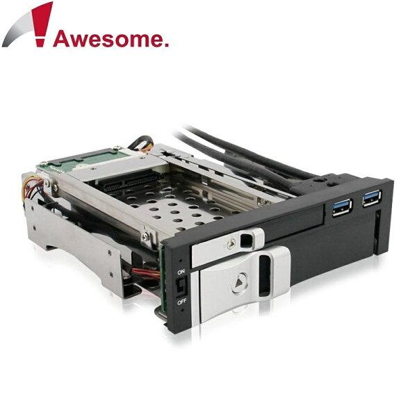 【迪特軍3C】Awesome2.5吋加3.5吋硬碟抽取盒