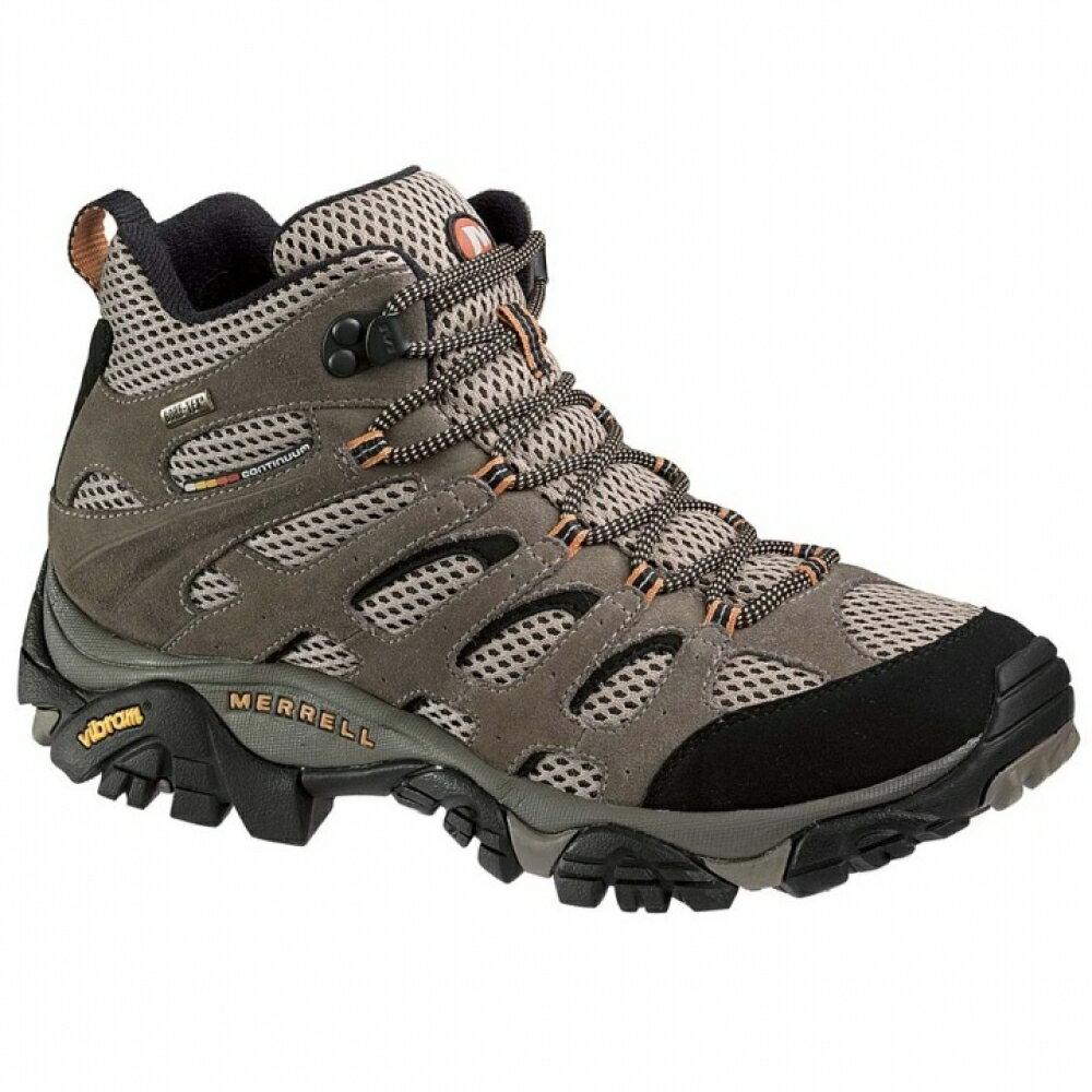 ├登山樂┤美國MERRELL MOAB MID GORE-TEX  男-多功能高筒登山健行鞋 棕黑# ML86901