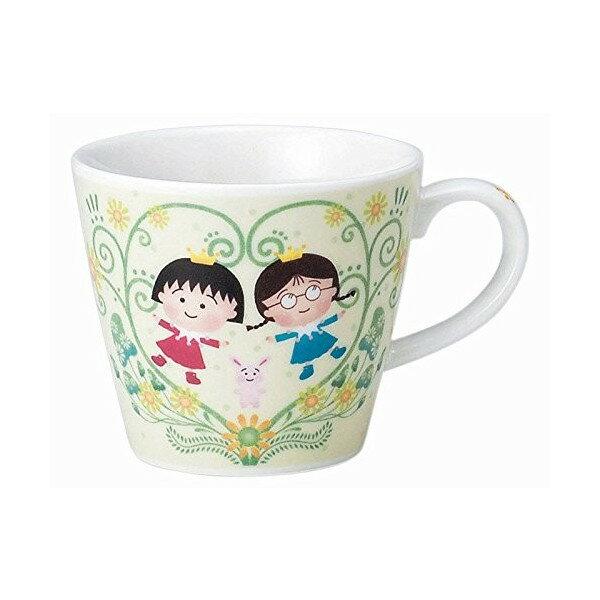 【真愛日本】17083000006 馬克杯-小丸子&小玉 櫻桃小丸子 馬克杯 杯子 水杯 飲水器具 生活用品