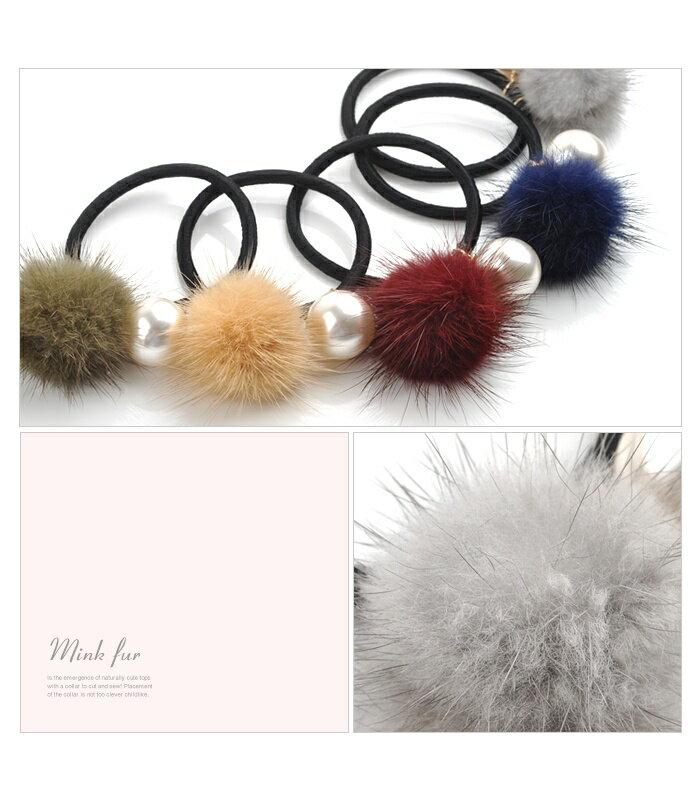 日本CREAM DOT  /  可愛毛毛髮圈 髮帶  /  qc0113  /  日本必買 日本樂天直送(990) 5