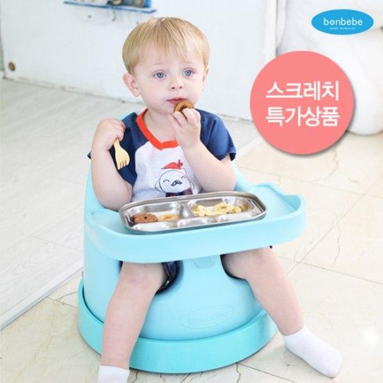 【贈收納袋】安琪兒【Bonbebe】360度歡樂多功能幫寶椅-藍色 2
