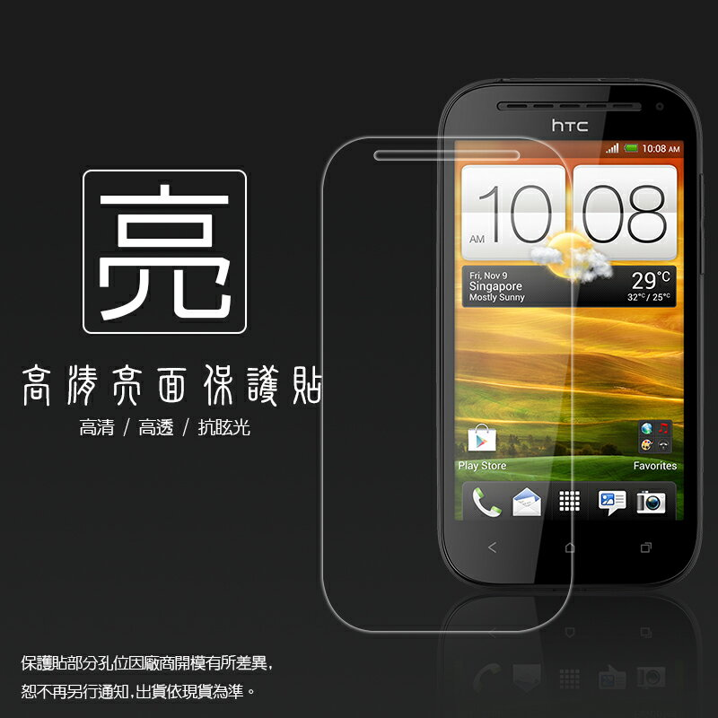 亮面螢幕保護貼 HTC ONE SV C520E / ONE ST T528t 保護貼