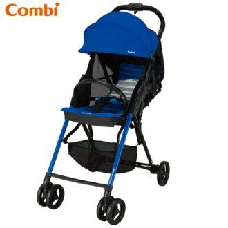 Combi F2 Plus AF 超輕靚單向手推車-爵士藍