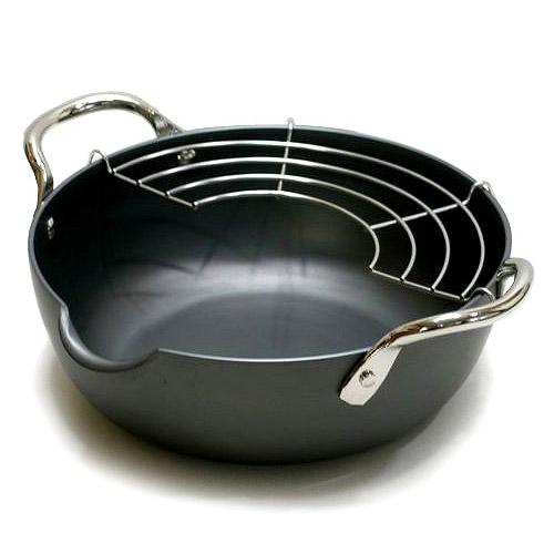 《極PREMIUM》天婦羅油炸鍋(20cm)