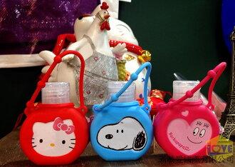 ♥滿載愛♥日本史奴比/hello kitty凱蒂貓/barbapapa泡泡先生乾洗手/攜帶型/洗手液