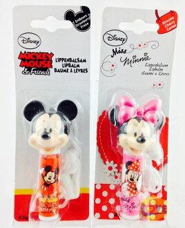 ♥滿載愛♥原裝進口-迪士尼disney 米奇/米妮護唇膏 micky/minnie 草莓/櫻桃