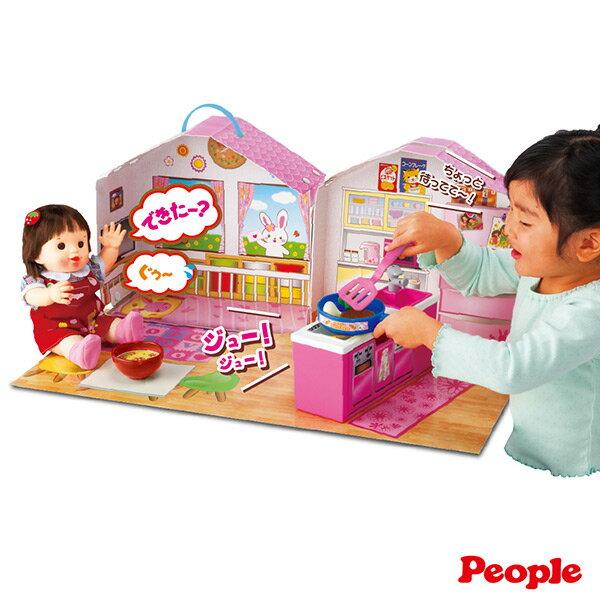 【日本知育洋娃娃】POPO-CHAN 會說話的廚房客廳組合 AI278