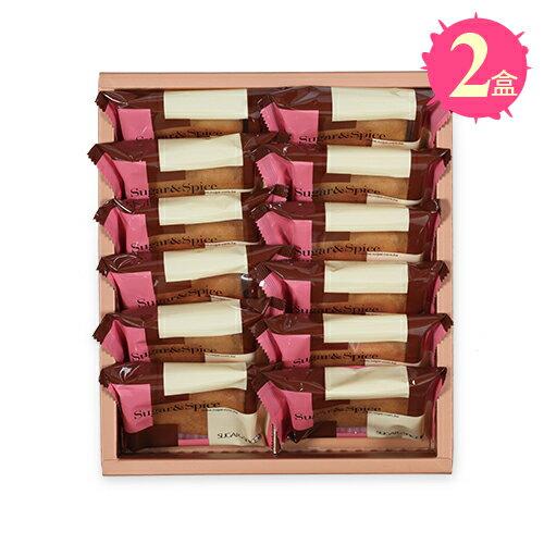 【糖村SUGAR & SPICE】義式咖啡薄捲餅12入禮盒x2盒