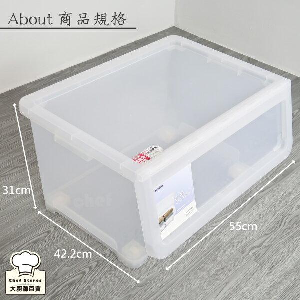 聯府直取式收納箱50L掀蓋式整理箱玩具置物箱LF608-大廚師百貨 8