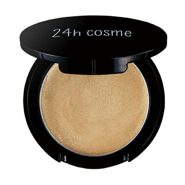 24h 肌膚友善礦物眼影修容兩用霜2.5g (02閃耀金棕)