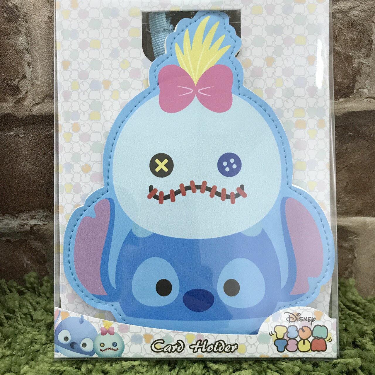 【真愛日本】17111600035 TSUM票卡包-ST&醜ㄚ頭 迪士尼 星際寶貝 史迪奇 票卡夾 證件夾 日用品