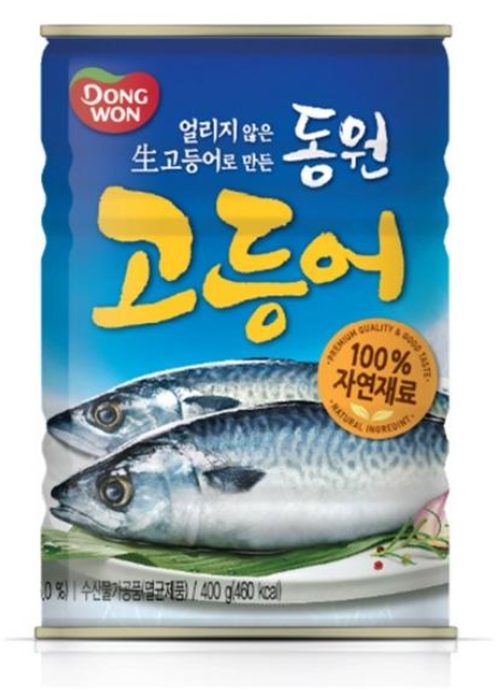 DONGWON 韓國 鯖魚罐頭 400g