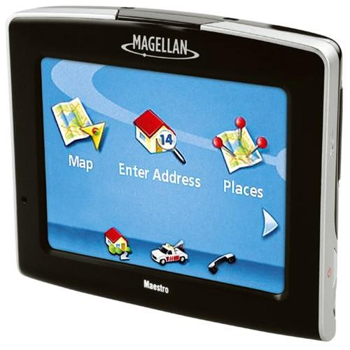 Magellan Maestro 3250 Portable GPS System w/ Built-in Maps & Voice Command 2
