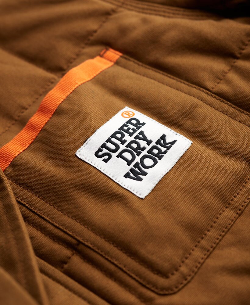 [男款] 英國代購 極度乾燥 Superdry Redford 男士風衣戶外休閒外套夾克 防水 防風 保暖 棕褐色 4