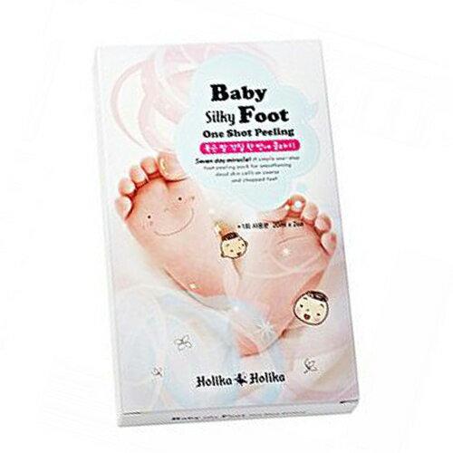 韓國 Holika Holika 寶貝絲綢煥膚足膜 護足 腳部保養 去角質 足養生 腳龜裂 腳粗糙 腳乾燥 水潤