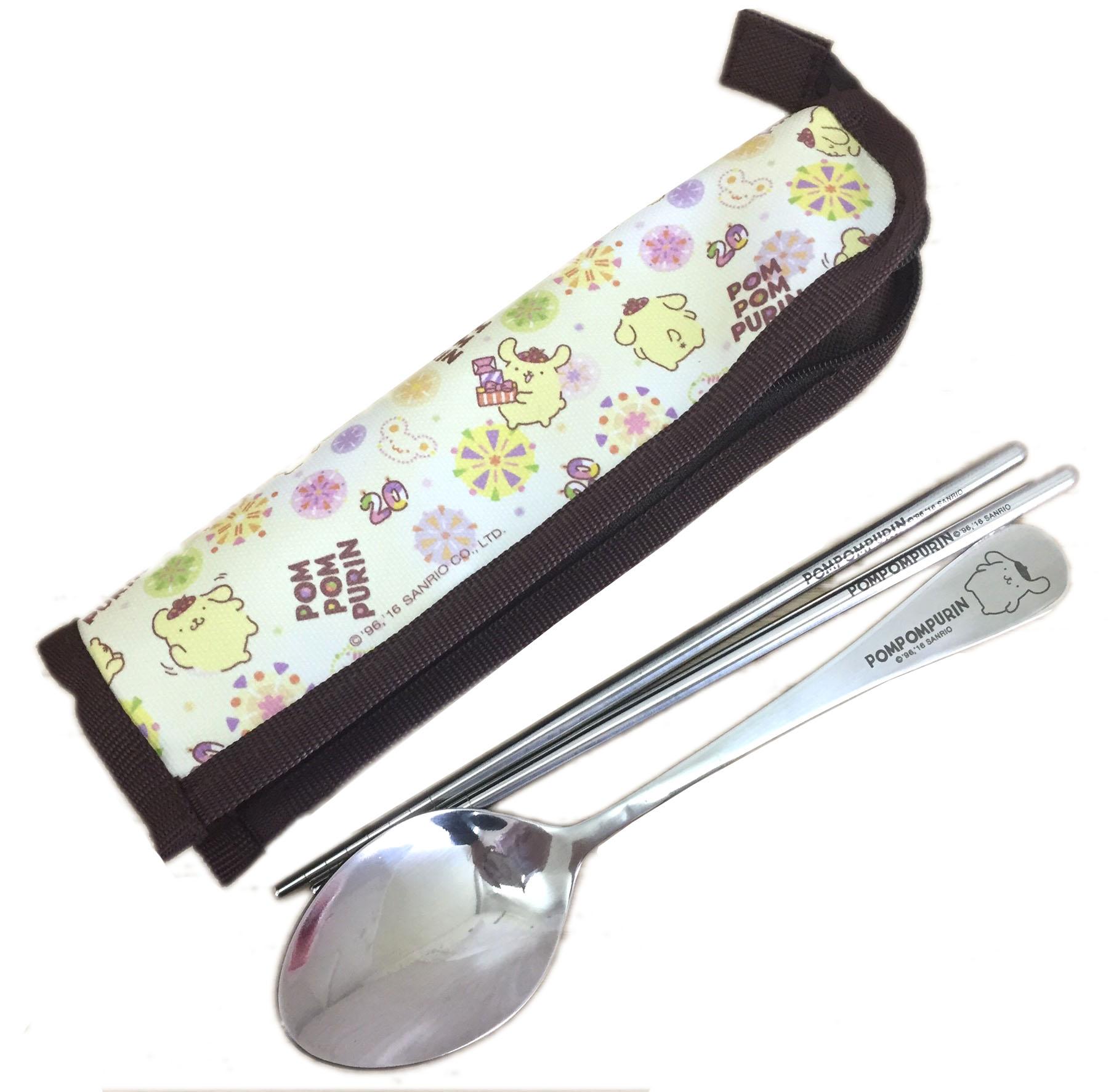 【真愛日本】16071300001環保餐具組-布丁狗  三麗鷗家族 布丁狗  餐具 生活用品