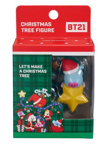 ☆勳寶玩具舖【現貨】YOUNG TOYS 宇宙明星 BT21 J-HOPE  超級巨星聖誕樹 MANG