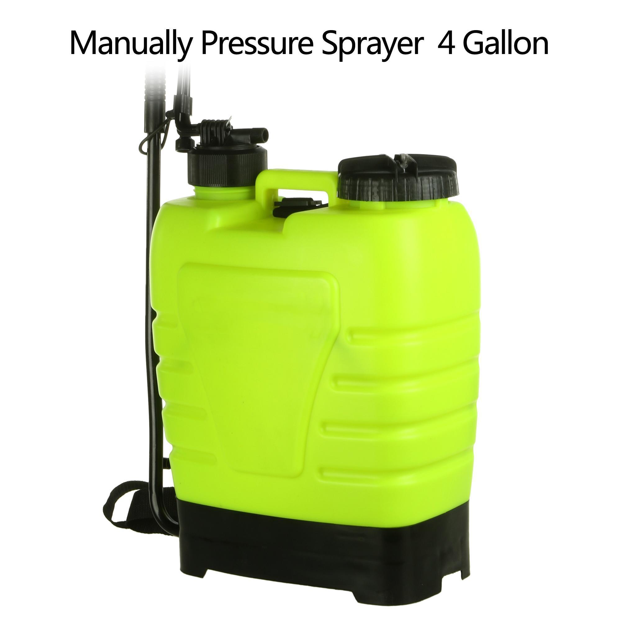 Portable Pressure Sprayer Knapsack 16L Garden Yard Weed Chemical 0