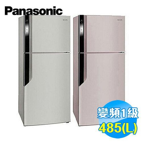 國際 Panasonic 485公升 雙門變頻冰箱 NR-B486GV