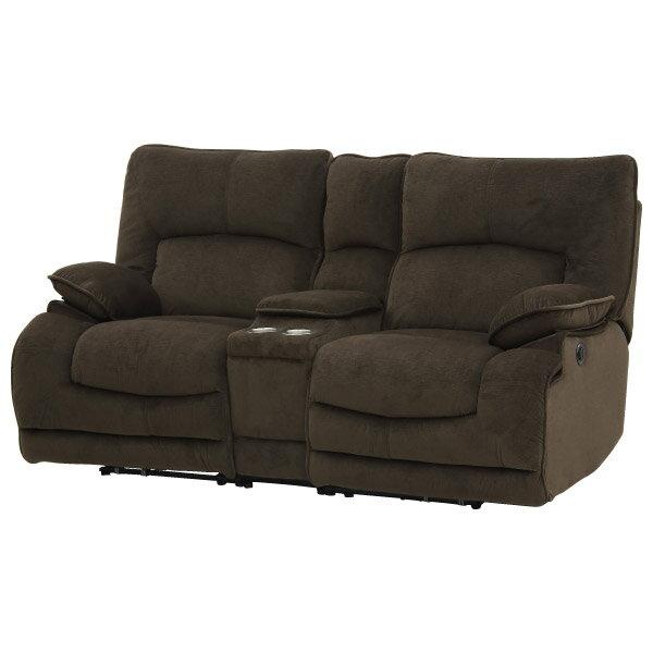 ◎布質2人用WIDE電動可躺式沙發 附茶几 HIT DBR NITORI宜得利家居 7