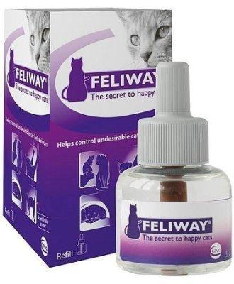 法國FELIWAY貓咪費洛蒙 補充罐^(48ML,可連續 1個月^)