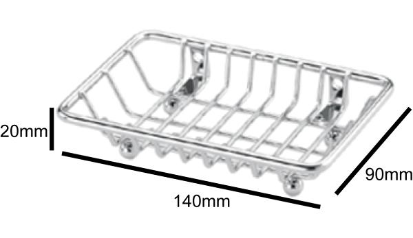 洗樂適衛浴:DAY&DAY肥皂掛架-掛放兩用(ST3207T)