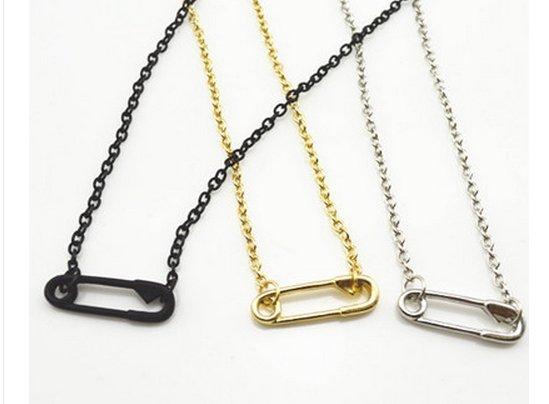 【JP.美日韓】 小單品 迴紋針 項鍊 歐美系列單品