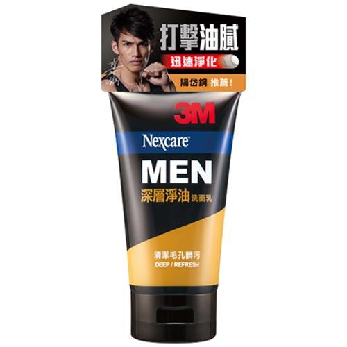 3M Nexcare MEN 深層淨油洗面乳 100g