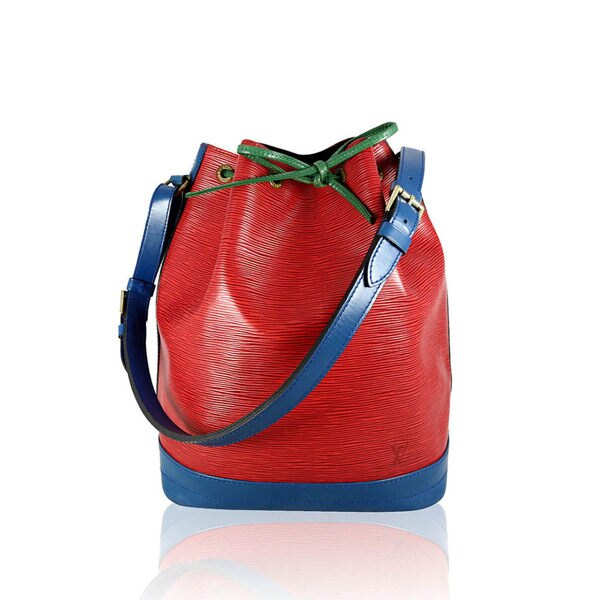 【LV】限量紅 藍 綠 混色 EPI 大水桶包 LV13000094