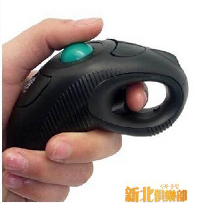 防疲勞 懶人優鼠 多功能無線有線2.4G手握式軌跡球滑鼠 空中飛鼠 新年慶