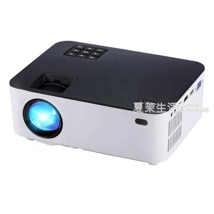 投影儀 投影機家用辦公高清1080p無線wifi手機3D微型智慧YTL