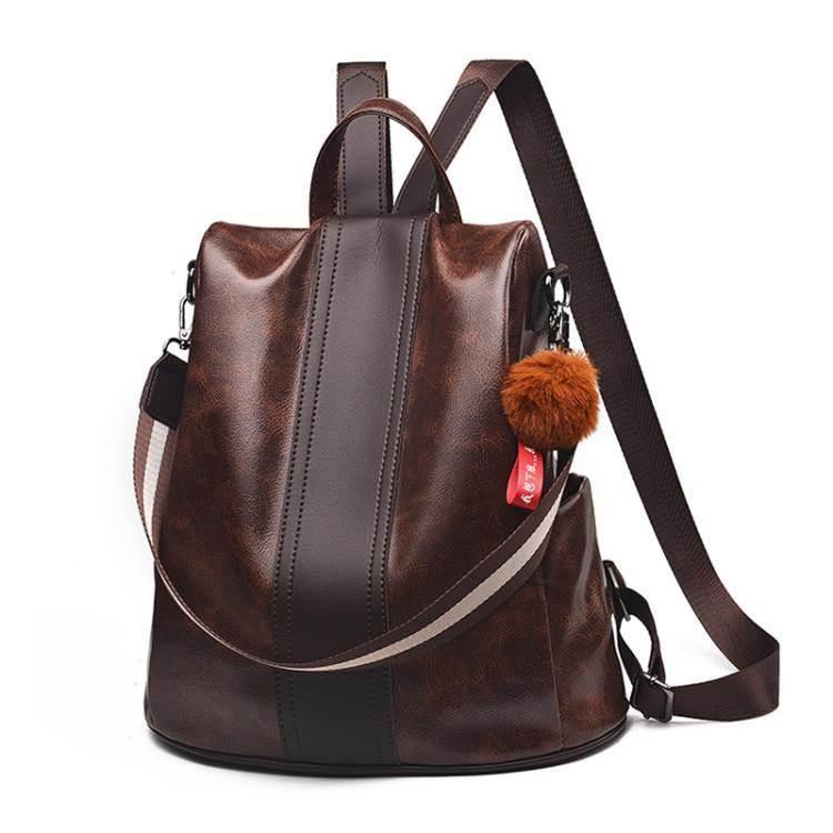 後背包後背包女2020新款韓版潮大容量包時尚百搭軟皮女士小背包學生書包