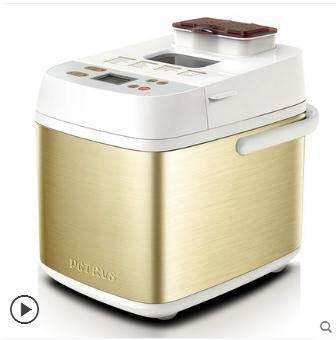 麵包機柏翠面包機家用全自動撒果料智慧和面發酵小型多功能早餐烤吐司機 LX