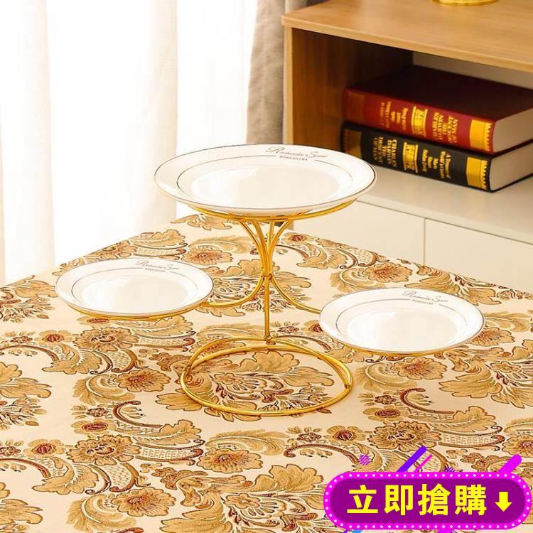 北歐風格多層水果盤客廳現代創意家用蛋糕盤架下午茶點心架甜品架