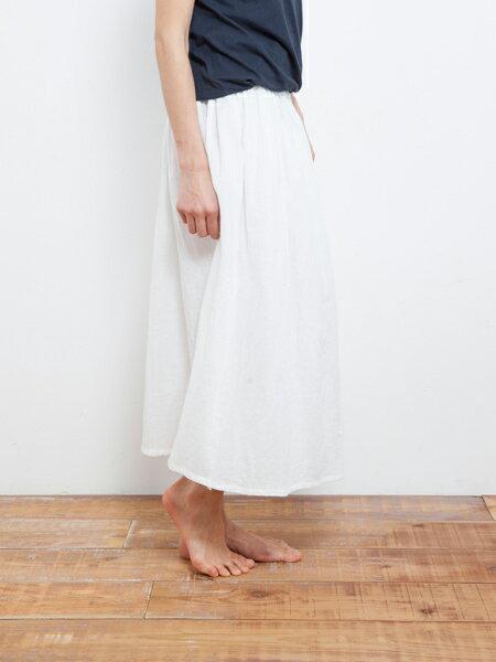 【Bali】亞麻布簡約長裙 瑜珈褲 2