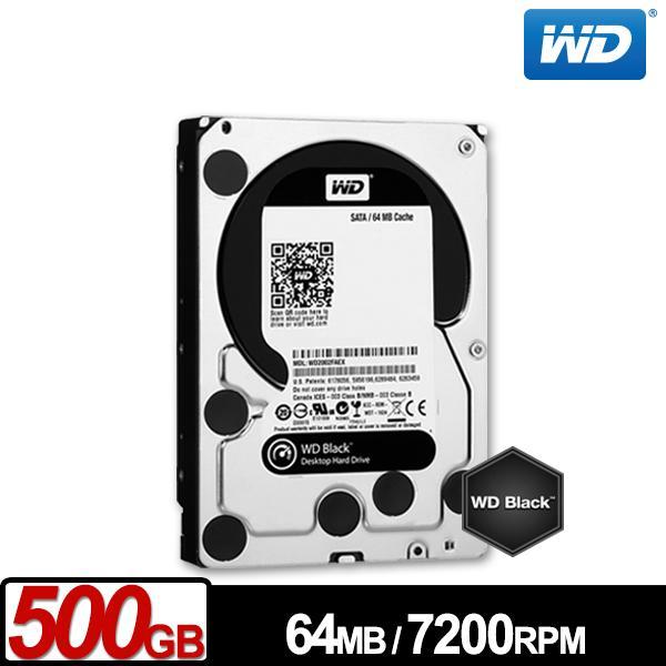 ★綠G能★全新★ WD5003AZEX 黑標 500GB 3.5吋SATA硬碟 64MB 7200 RPM 請先詢問貨源