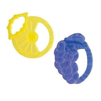 ★衛立兒生活館★Chicco 水果輕量矽膠固齒玩具2入