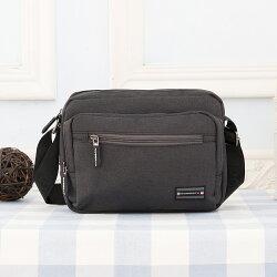 【Roberta Colum】諾貝達 百貨專櫃 男仕多功能防潑水側背包(PX502-1 黑色)【威奇包仔通】