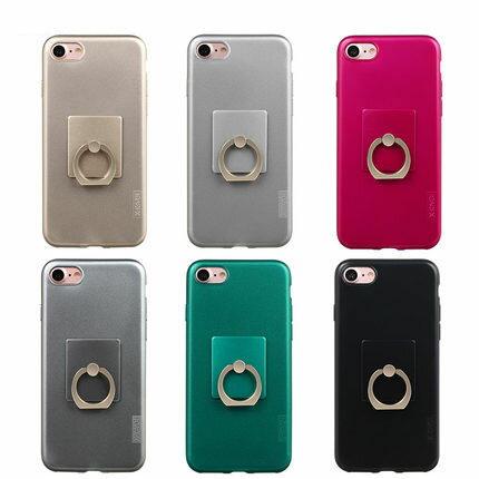 """小玉3C商城:X-Leveliphone7plus5.5""""帶支架保護套矽膠軟殼手機套指環"""