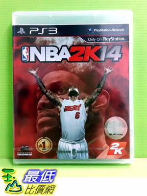 (現金價) (全新沒拆) PS3 勁爆美國職籃 2K14 NBA 2K14 中文版(亞版)