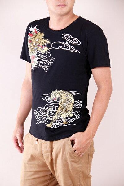 【CS衣舖 】韓系 合身版 萊卡彈力 短袖T恤 3110 2