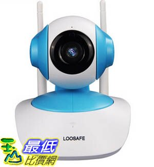 [玉山最低比價網] 龍視安 loosafe無線網路攝像頭 手機遠端監控智慧家居系統防盜報警器