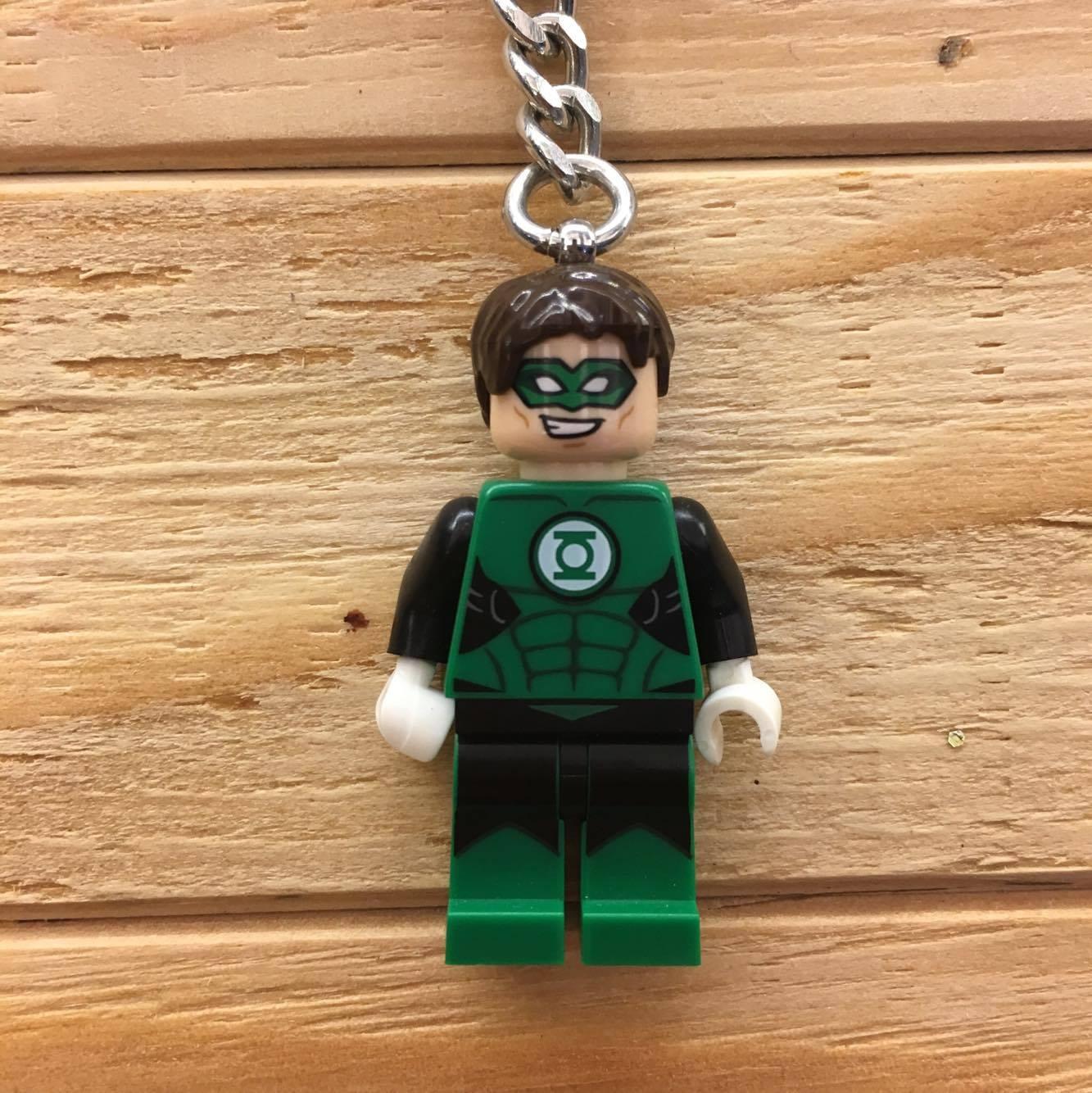 BEETLE LEGO SUPER HEROES GREEN LANTERN 綠燈俠 樂高 積木 鑰匙圈 玩具 1