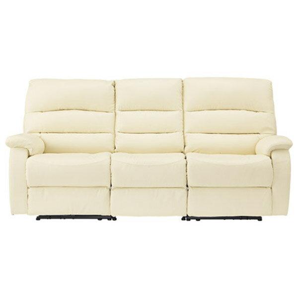 ◎(OUTLET)全皮3人用頂級電動可躺式沙發 BELIEVER IV 福利品 NITORI宜得利家居 3
